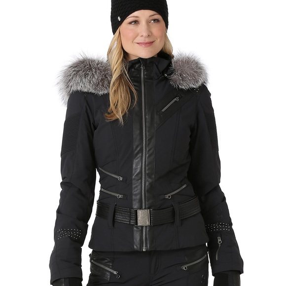 2b079fe1ca Spyder Amour women s ski jacket with Saga fox fur